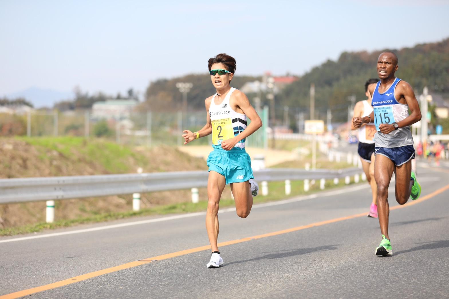 2019.12.6.熊本甲佐10マイルロードレース